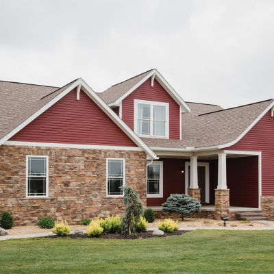 Capstone Custom Homes - Wooster Ohio Model Home- Exterior