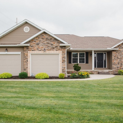 Capstone Custom Homes- Wooster Ohio Model Home- Exterior