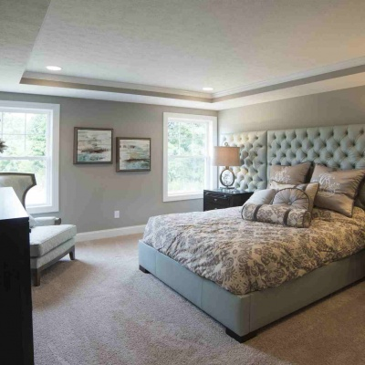 Capstone Custom Homes-Wooster Ohio Parade Home- Master Bedroom