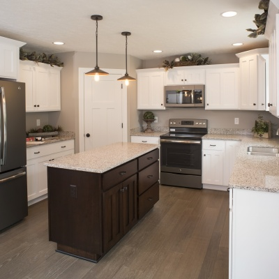 Capstone Custom Homes- Wooster Ohio Parade Home- Kitchen