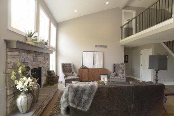 Capstone Custom Homes  Wooster Ohio  Living Area