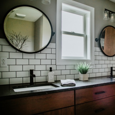 custom kitchen vanity